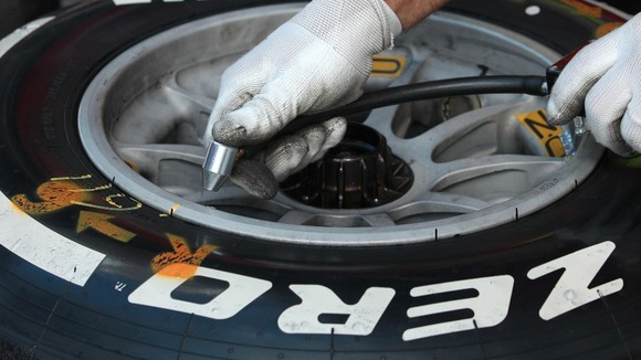 From today a new EU law will require battery-powered sensors to be fitted inside every tyre
