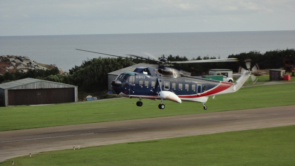 Scilly Helicopter To Take Last Flight Tonight  West Country  ITV News