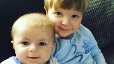 Archie Joe Darby (pictured with brother Daniel-Jay) was killed by his aunt's dog.