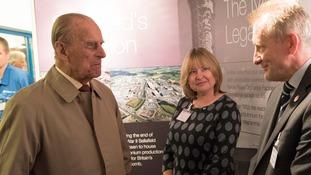 Prince Philip visits Sellafield