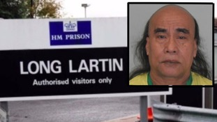 Double killer handed life sentence for killing inmate with rock