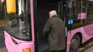 Protest over OAPs' bus passes