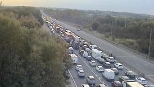 TRAVEL: Accident closes M56 in Cheshire