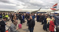 London City Airport evacuated following a fire alert