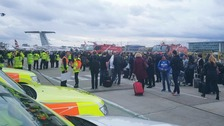 London City Airport closed after tear gas incident