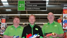 Asda changes its signs to Geordie for Dialect Day