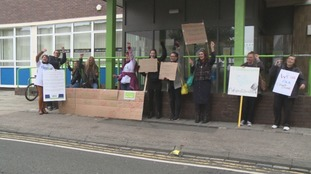 Handcuff protests over benefit sanctions system