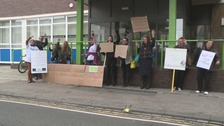 Protest in Stockton