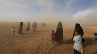 Mosul: UN 'gravely concerned' Islamic State is using civilians as human shields