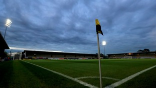 A general view of the pitch at the Pirelli Stadium before kick-off