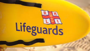 Which beaches are monitored by lifeguards this Half Term?