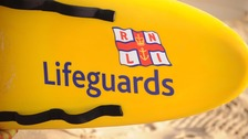 Which beaches have lifeguards this Half Term?