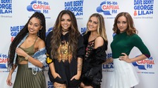 Little Mix celebrate fourth number one
