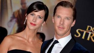 Benedict Cumberbatch hails 'true superheroes' at charity awards