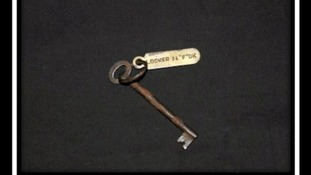 Titanic locker key expected to fetch thousands at auction in Wiltshire