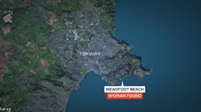 Woman found in sea off Torquay dies in hospital