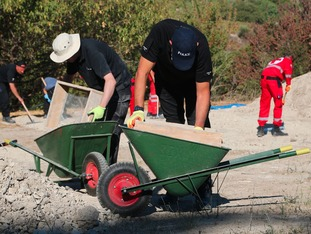 South Yorkshire Police have excavated two sites in Greece looking for Ben