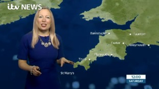 Your weather for the South West with Philippa Drew