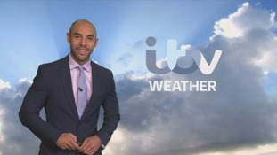 Sunny spells and scattered showers this afternoon.