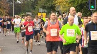 Leicester Marathon takes to city streets