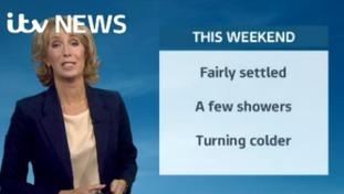 Weather: Weekend update