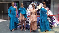 Models march to launch Cardiff Fashion Week
