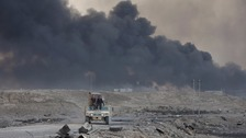 Iraqi forces move to 'within three miles of Mosul'