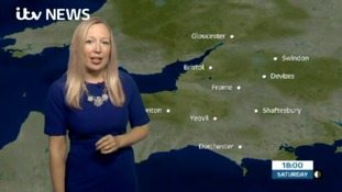 Your latest weather for the West with Philippa Drew