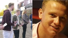 Family of missing RAF serviceman Corrie McKeague appeal to football fans