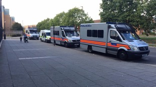 Stand-off in Northolt as homes evacuated over 'hazardous items'