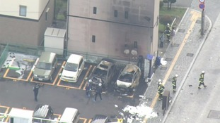 Deadly Japan city park blasts suspected suicide
