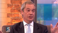 Nigel Farage slams Suzanne Evans over 'toxic' Ukip comments