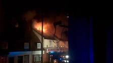 Pub roof completely destroyed in Great Wakering fire