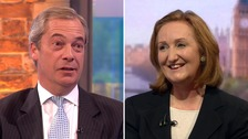 Farage criticises Evans over 'toxic' Ukip comments