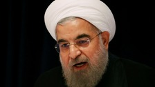 Hassan Rouhani criticised the US presidential candidates' behaviour during debates.