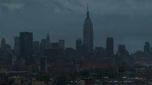 The city that never sleeps, on hurricane stand by