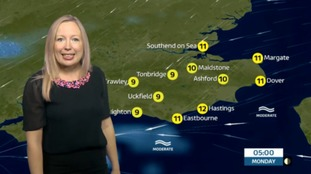 Philippa has the latest weather update for the east