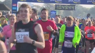 Thousands compete in Great South Run