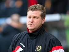 MK Dons manager Karl Robinson leaves club by mutual consent