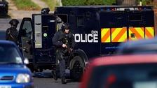 Explosives fear over Northolt stand-off