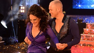 Lesley Joseph and Judge Robert Rinder at the launch of Strictly Come Dancing.