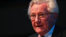 Lord Heseltine at Birmingham Town hall today