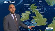 Weather: Temperatures dip as showers move across UK