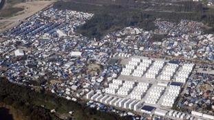 The 'Jungle' camp in Calais
