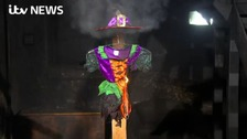ITV previously carried out research into how flammable costumes were and some lit in seconds