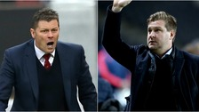 Steve Cotterill (left) is tipped for the Dons job