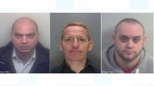 Three jailed for stealing £7million in UK taxes