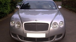 Aquil Ahmed's Bentley