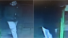 The men stole stole two cash boxes from a shop in Bury St Edmunds.
