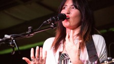"Singer KT Tunstall thanks NHS ""Angels"" after swallowing chicken bone"